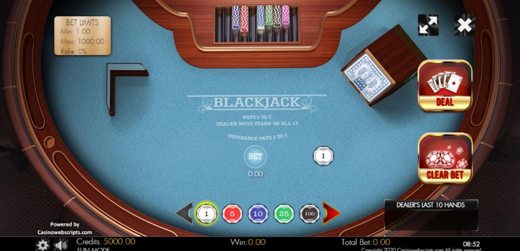 Klassik Blackjack